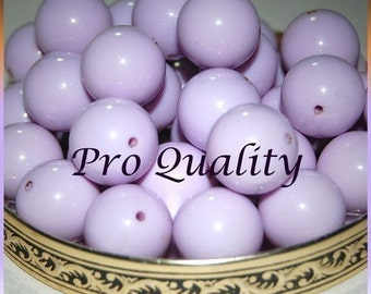 Wholesale 1/4 Pound Lovely Lilac Lucite16MM Beads D3
