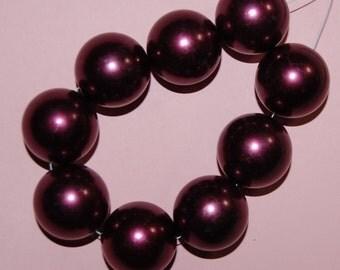 Vintage 4 Bordeaux Red Wine 26mm Pearls  M2R