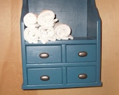 Reserve Listing for SigRoyLover       Wall Shelf with Drawers