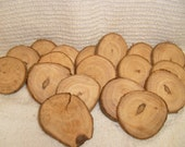 Wooden Button Blanks