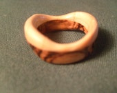 Wavy Tigerwood and Pine Ring