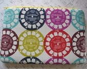 Kindle sleeve / Kindle Fire Case in  View Finder by Melody Miller / eReader  Cover Japanese Fabrics  Retro
