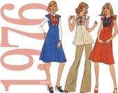 70s Dress Vintage Pattern 31B Simplicity 7599 UNCUT FF