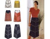 Chevron Skirt Sewing Pattern Multisize Simplicity 7179 UNCUT FF