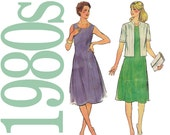 Womens Dress Vintage Sewing Pattern - Butterick 3758 - 37 to 41 Bust - Uncut, FF