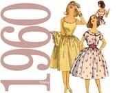 60s Sundress, Jacket Vintage Pattern - B33 - Simplicity 3471 - Uncut, Factory Folds