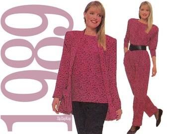 80s Separates Vintage Pattern - Multisize -  Simplicity 9366 - Uncut, Factory Folds
