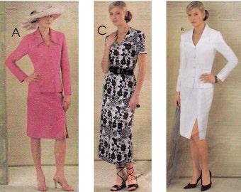 Jacket Dress Skirt Sewing Pattern Multisize McCalls 4033 UNCUT FF