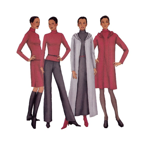 Top, Skirt, Pants Sewing Pattern - Size 12, 14, 16 - Butterick 6771- UNCUT Factory Folds