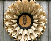 MTO- OWL Vintage Dictionary Wreath for your Fall Ball - Door Decor