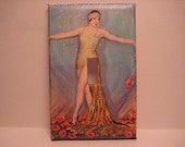 Art Deco-Style Light Switch Plate Cover