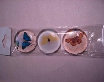 Vintage Butterfly Super Strong Magnet Set