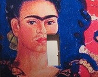 Frida Kahlo Light Switch Cover
