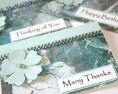 5 Handmade Card Gift Set, Card Gift Set, Handmade Birthday Cards, Thank You Cards, Thinking Of You