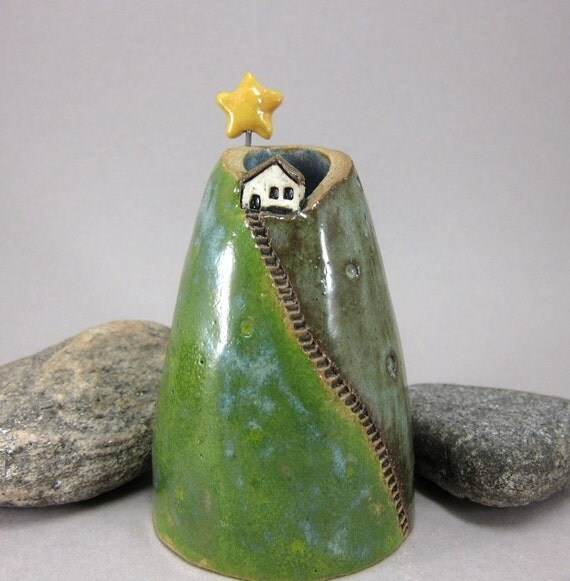 My Star...Bud Vase / Pen Holder in Stoneware