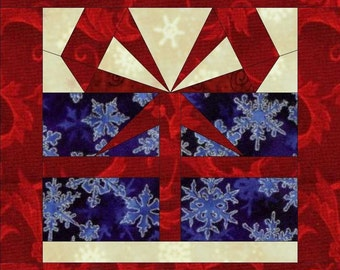 Holiday Candle Mats-Paper Piece Patterns by MadCreekDesign-PDF