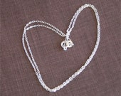 Sterling Silver Chain - delicate and light - 16 inch