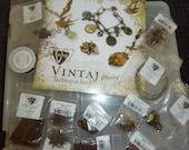 Destash Huge Vintaj Natural Brass  closeout prices