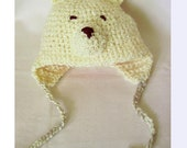 Special order for Robin  - Teddy Bear Hat -- 2 yrs old