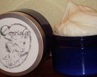 6 oz Goat Milk lotion | deep moisture cream | Shea + Cocoa + Mango Butter | vanilla citrus essential oils | orange vanilla | free ship !!
