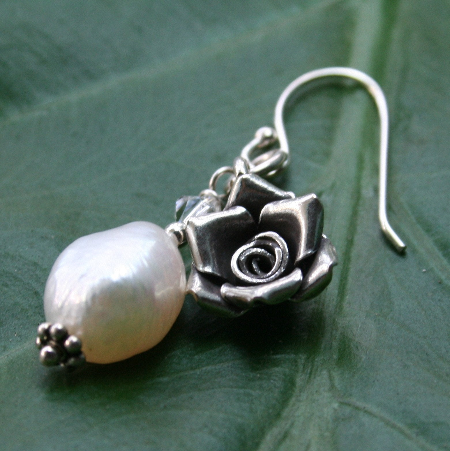 Rose Charm From 1000beads On Etsy Studio