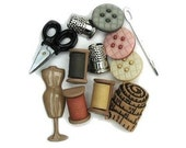 12 Sewing Room Buttons