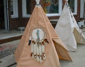 Children's Non-Canvas Teepee cover only no poles indoor outdoor