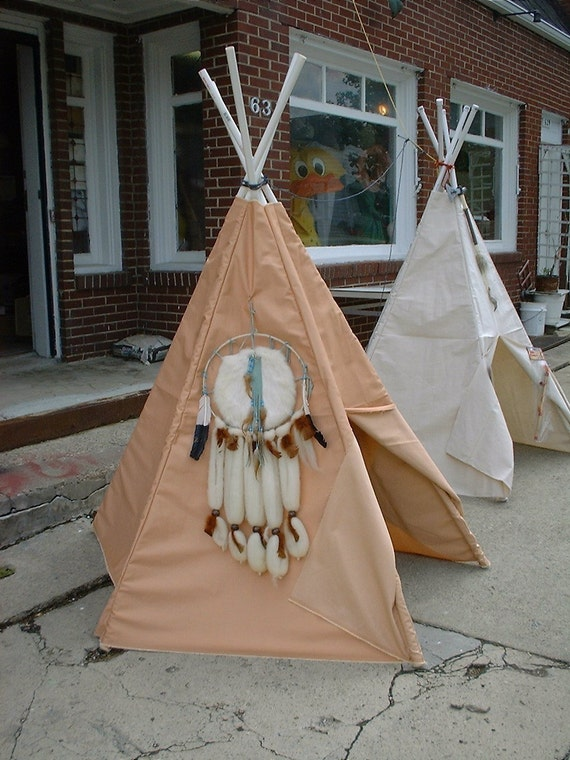 Items Similar To Children 39 S Heavy Fabric Teepee Cover