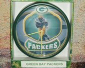 Green Bay Packers Round Wall Clock