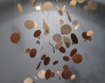 Polka Dot Mobile in Shades of Bauhaus-MEDIUM