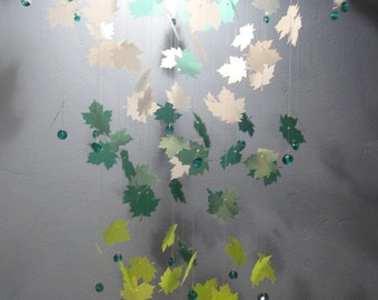 Maple Leaves Mobile in Shades of Gorgeous - LARGE