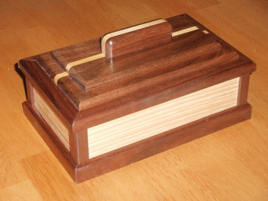 how to make a box with a secret compartment