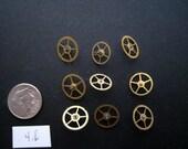 Medium - Vintage Antique Watch parts gears- Steampunk - Scrapbooking (9)