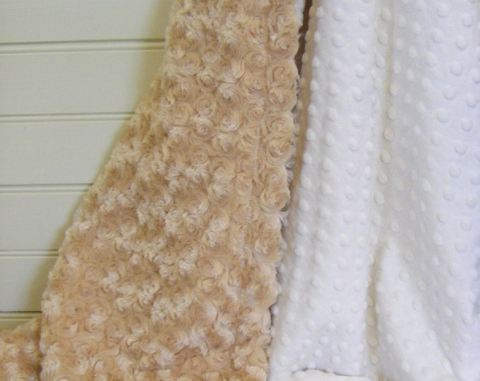 Choose Your Own Color......Minky Baby Blanket