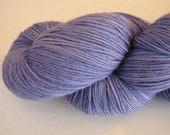 SALE Hand Dyed Sock Yarn in Amethyst Vein