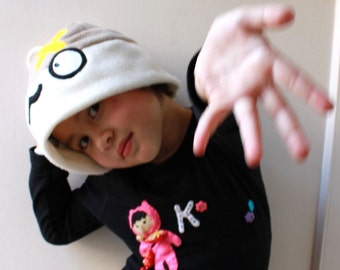 FREE SHIPPING! - Iddle Beedle Kawaii Monster Fleece Hat For Kids, Teens & Adults
