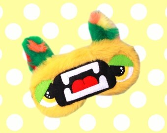 FREE SHIPPING! Sleeping Eye Mask - Orthous the Furry Corn Eating Monster