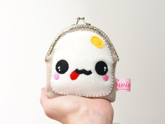 FREE SHIPPING! - The Coin Purse - Teemie the White Toast
