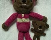 Bedtime Teddy Bear and Baby Bear