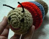 Caterpillar Ring Baby Toy