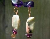 violet hour earrings