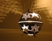 Sputnik 4X star colander lantern