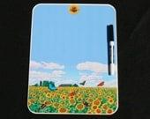 Butterfly Fields Forever Dry Erase Memo Board