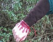 Bleeding Leather Bracers