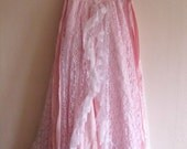 The Marie Antoinette SALE Dress Vintage Gunne Sax by Jessica McClintock  80's Taffeta Party 18th Century Inspired Pink Champagne & Lace