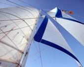 Sails and Blue Skies II