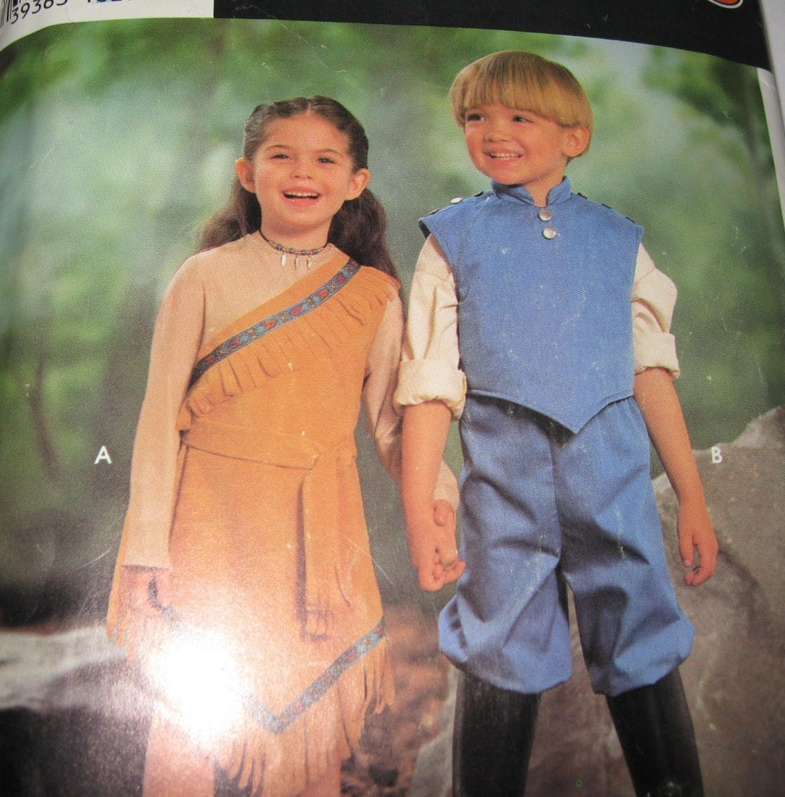 Pocahontas John Smith Costume