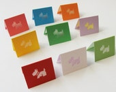 Little Terrier - Mini Cards Set of 18 - Rainbow Collection