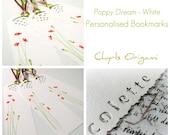 Personalised Names Bookmarks - Set of 8 Assorted - Original Illustration
