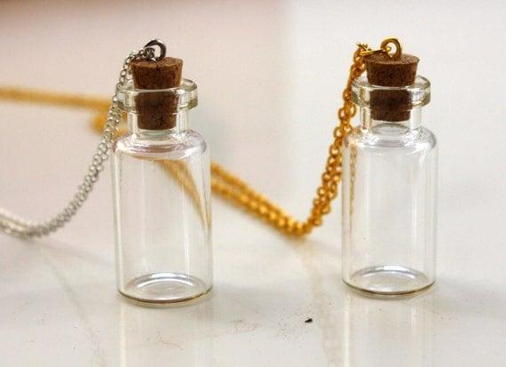 Medium Glass Vial Necklace
